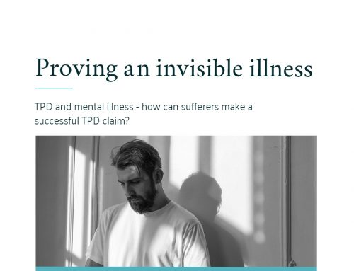 Proving an invisible illness: TPD and mental illness