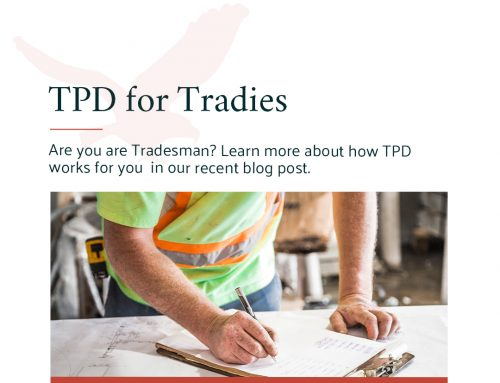 TPD for Tradies: how it works