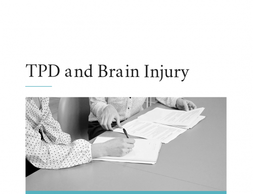 Can I claim TPD for a Brain Injury?
